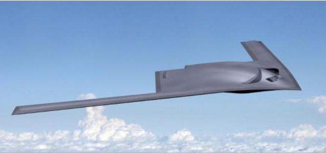 Ý tưởng máy bay ném bom tầm xa thế hệ tiếp theo của Mỹ. Ảnh: Sina.