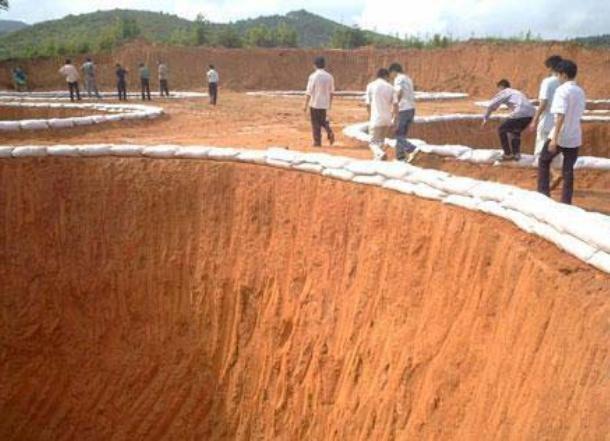 Khai thác đất hiếm ở Trung Quốc. Ảnh: People.