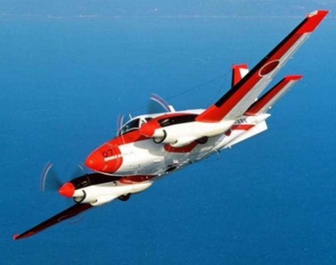 Máy bay huấn luyện TC-90 Nhật Bản. Ảnh: People.