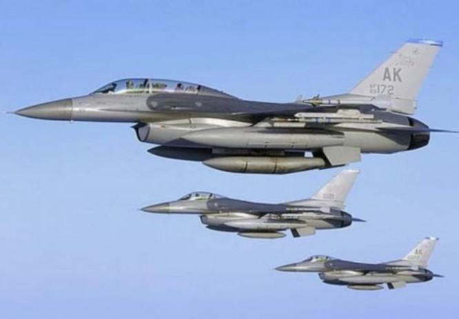 Máy bay chiến đấu F-16 do Mỹ chế tạo. Ảnh: Eastday.