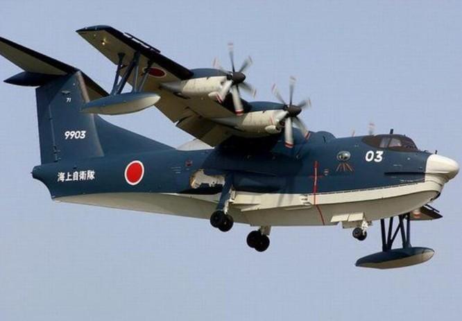 Thủy phi cơ US-2 Nhật Bản. Ảnh: Sina.