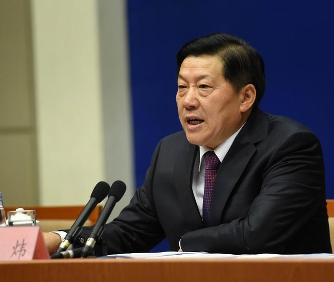 Phó Trưởng ban tuyên truyền Đảng Cộng sản Trung Quốc ông Lỗ Vĩ đã ngã ngựa. Ảnh: Dwnews.