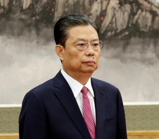 Ông Triệu Lạc Tế, tân Bí thư Ủy ban Kiểm tra kỷ luật Trung ương, Đảng Cộng sản Trung Quốc. Ông Triệu Lạc Tế lên thay ông Vương Kỳ Sơn sau Đại hội XIX của Đảng Cộng sản Trung Quốc. Ảnh: Dwnews.