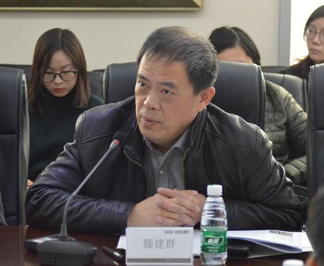 Đằng Kiến Quần, Giám đốc Trung tâm nghiên cứu Mỹ, Viện nghiên cứu các vấn đề quốc tế Trung Quốc. Ảnh: CCG.