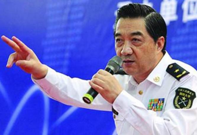 Chuyên gia quân sự Trung Quốc Trương Triệu Trung. Ảnh: Ifeng.
