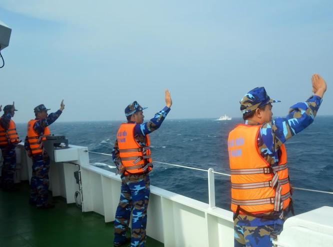 Lực lượng Cảnh sát biển Việt Nam.