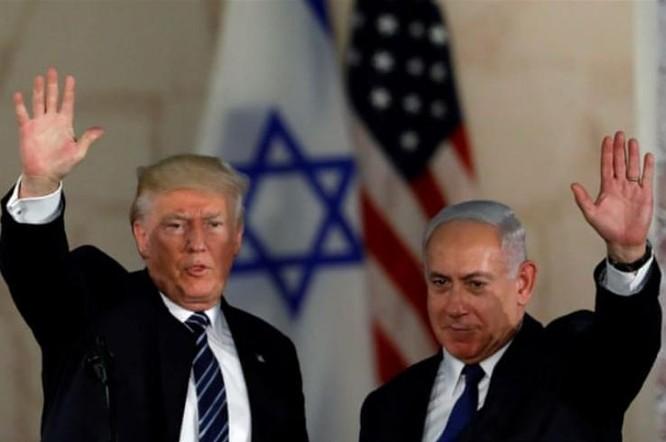 Tổng thống Mỹ Donald Trump và Thủ tướng Israle Benjamin Netanyahu. Ảnh: Al Jazeera.