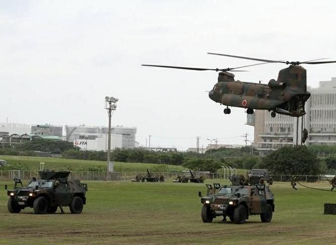 Lực lượng Phòng vệ Nhật Bản. Ảnh: Sina.