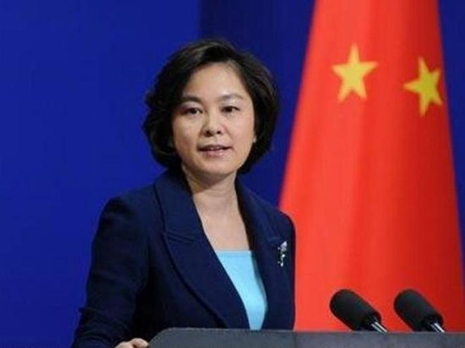 Người phát ngôn Bộ Ngoại giao Trung Quốc bà Hoa Xuân Oánh. Ảnh: People.