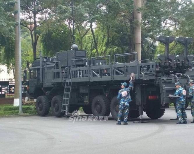 Hệ thống tên lửa phòng không SPYDER do Israel chế tạo. Ảnh: Sina.