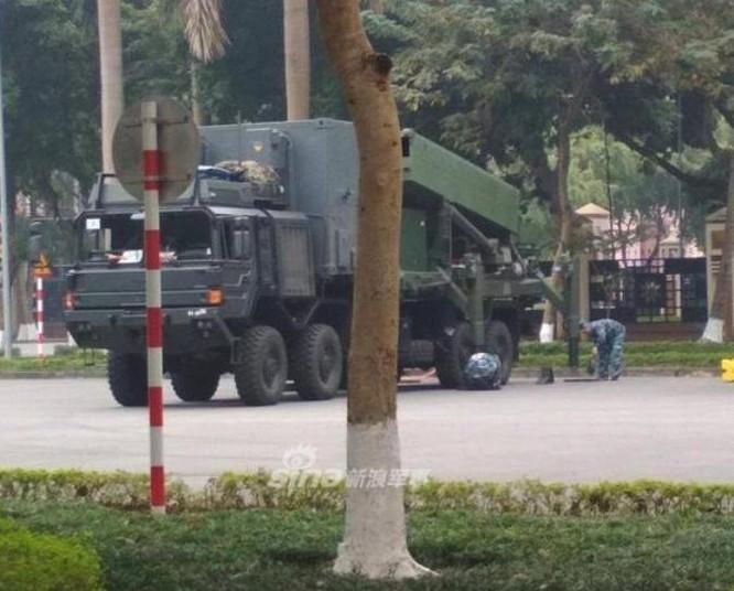 Hệ thống tên lửa phòng không SPYDER Việt Nam mua của Israel. Ảnh: Sina.