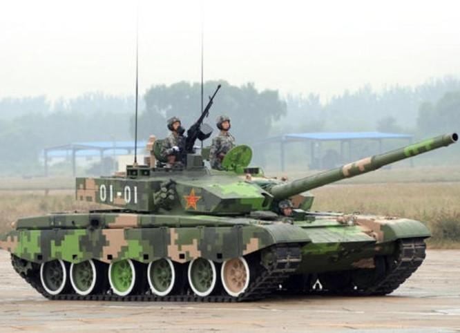 Xe tăng chiến đấu Type 99 Trung Quốc. Ảnh: Huanqiu.