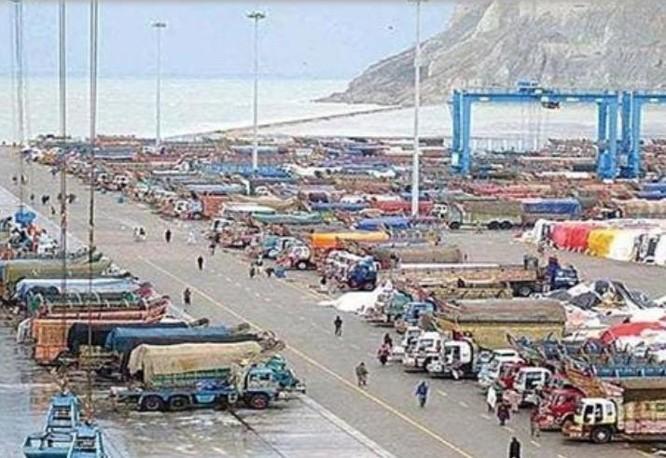 Cảng Jiwani của Pakistan. Ảnh: Sina.
