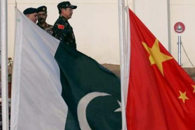Trung Quốc và Pakistan tiến hành diễn tập chống khủng bố liên hợp. Ảnh: Sina.