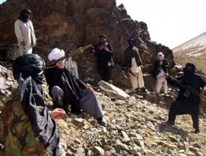 Lực lượng vũ trang Taliban ở Afghanistan. Ảnh: Sina.