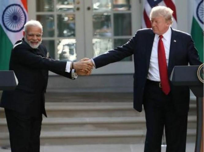 Ấn Độ và Mỹ tăng cường hợp tác. Ảnh: Sina.