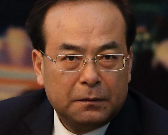 Tôn Chính Tài, nguyên Ủy viên Bộ Chính trị, Bí thư Thành ủy Trùng Khánh. Ảnh: Dwnews.