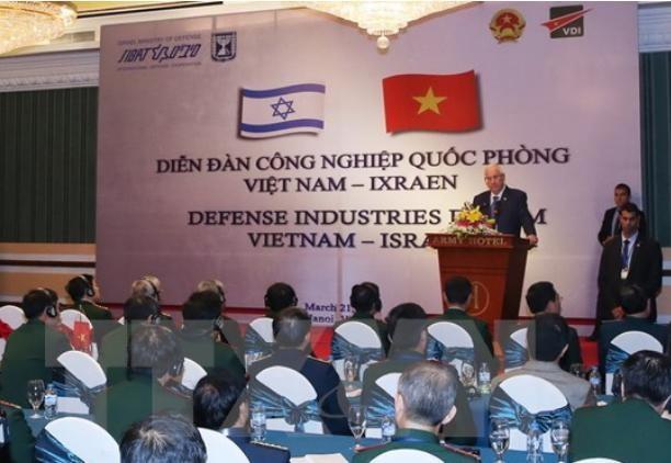 Diễn đàn công nghiệp quốc phòng Việt Nam - Israel ngày 21/3/2017.