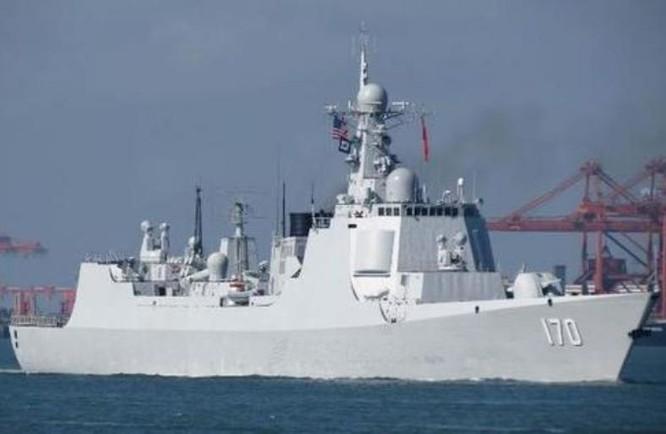 Tàu khu trục Lan Châu Type 052C, Hạm đội Nam Hải, hải quân Trung Quốc. Ảnh: Sina.