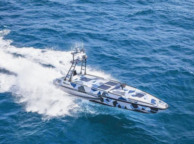 Tàu không người lái KATANA của Israel. Ảnh: CRNTT