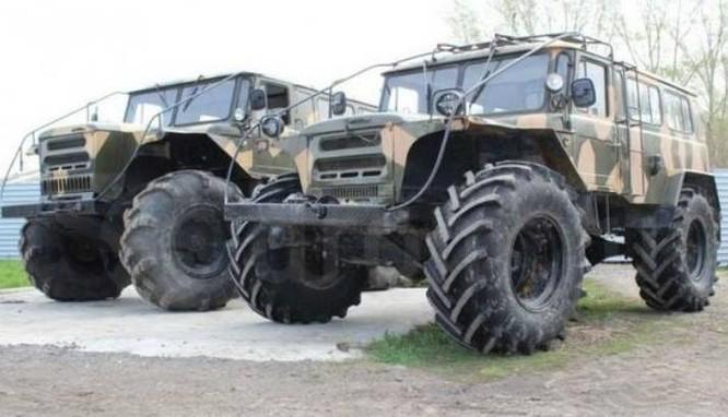 Xe tải của quân đội Nga. Ảnh: Sina.