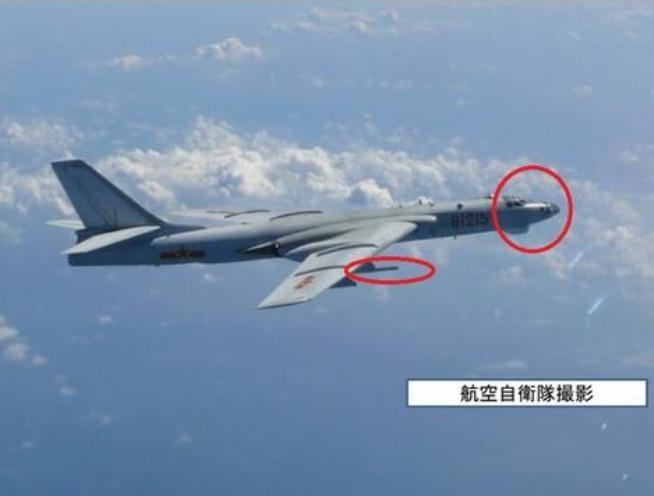 Máy bay ném bom H-6G của hải quân Trung Quốc. Ảnh: Sina.
