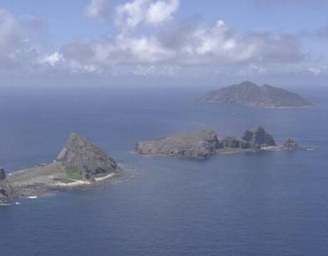 Quần đảo Senkaku. Ảnh: NHK.