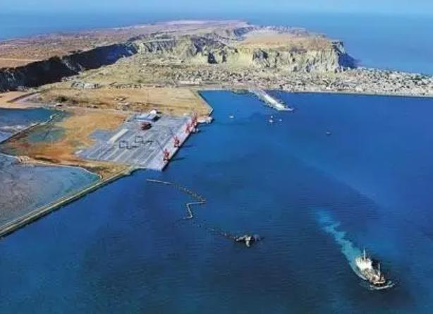 Cảng Gwadar của Pakistan. Ảnh: Ifeng.
