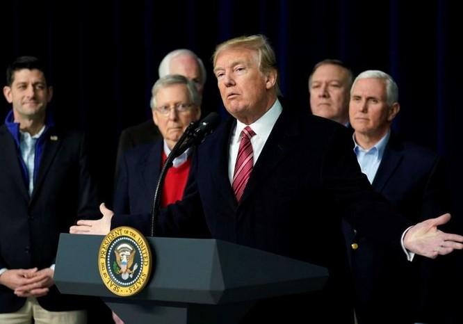 Tổng thống Mỹ Donald Trump gần đây công bố chiến lược an ninh quốc gia mới. Ảnh: ABC.