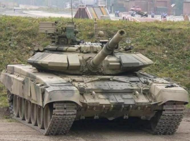 Xe tăng chiến đấu T-90S do Nga chế tạo. Ảnh: Sohu.