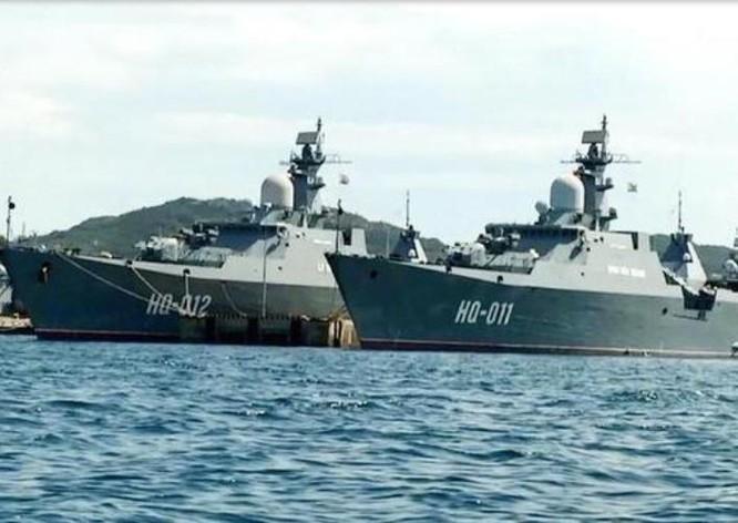 Tàu hộ vệ lớp Gepard của hải quân Việt Nam. Ảnh: Sina.