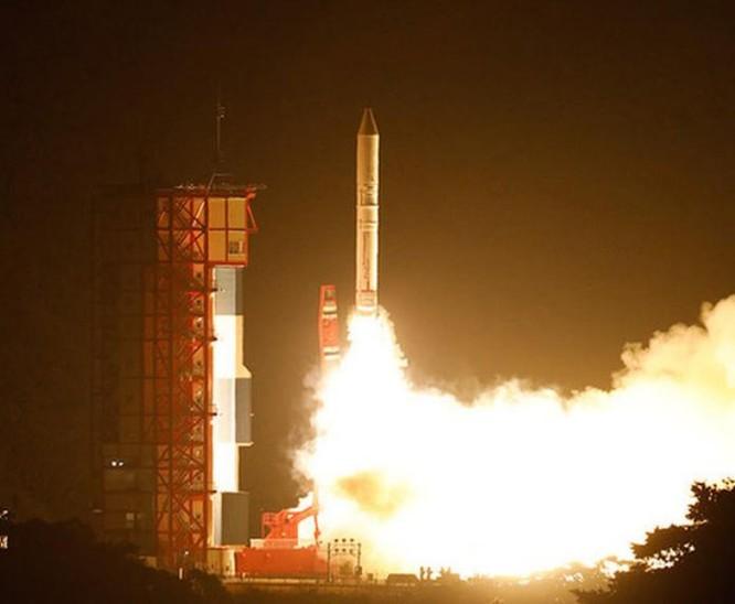Tên lửa đẩy Epsilon do Nhật Bản tự phát triển. Ảnh: Space.