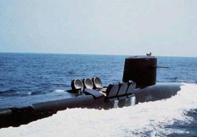 Tàu ngầm hạt nhân chiến lược lớp Ohio của hải quân Mỹ. Ảnh: Xinhuanet.