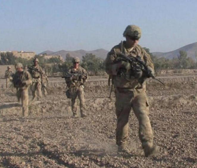 Binh sĩ Mỹ được triển khai nhiều hơn tới Afghanistan. Ảnh: CBS News.