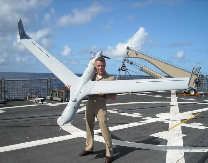 Máy bay do thám không người lái cỡ nhỏ Scan Eagle Mỹ. Ảnh: Model Airplane News.