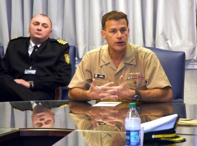 Phó Đô đốc John Aquilino sẽ lên làm Tư lệnh Hạm đội Thái Bình Dương Mỹ. Ảnh; Stars and Stripes.