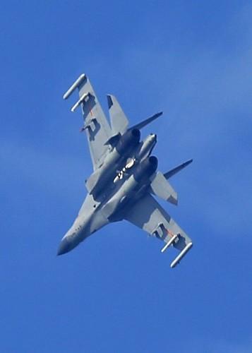 Máy bay chiến đấu J-11 Trung Quốc. Ảnh: Sina.