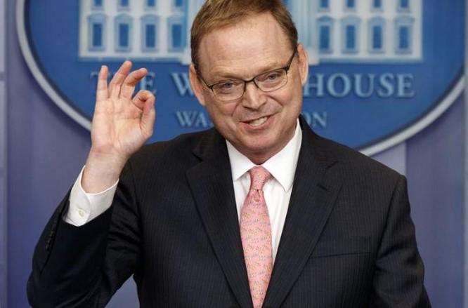 Chủ tịch Ủy ban cố vấn kinh tế Nhà Trắng Mỹ Kevin Hassett. Ảnh: Washington Times.