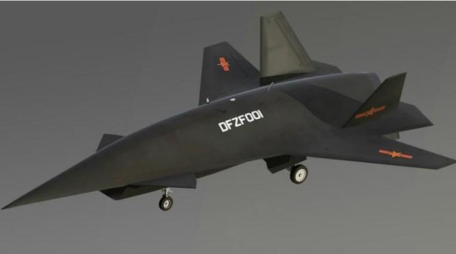 Máy bay chao lượn siêu thanh DF-ZF Trung Quốc trong tưởng tượng. Ảnh: Qianlong.