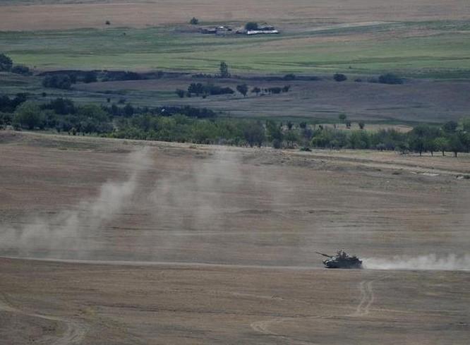 Xe tăng M1 Mỹ trong một cuộc tập trận ở châu Âu. Ảnh: Cankao.