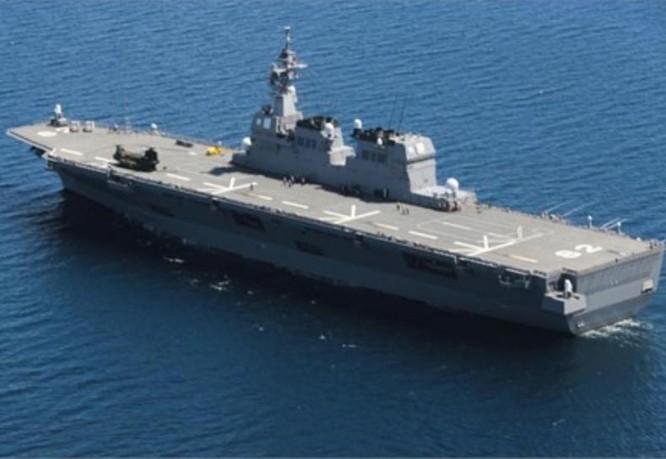 Tàu sân bay trực thăng Ise lớp Hyuga Nhật Bản. Ảnh: Guancha.