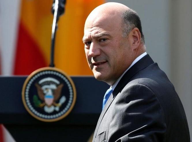 Chủ tịch Hội đồng kinh tế quốc gia Mỹ Gary Cohn đã tuyên bố từ chức. Ảnh: Reuters.