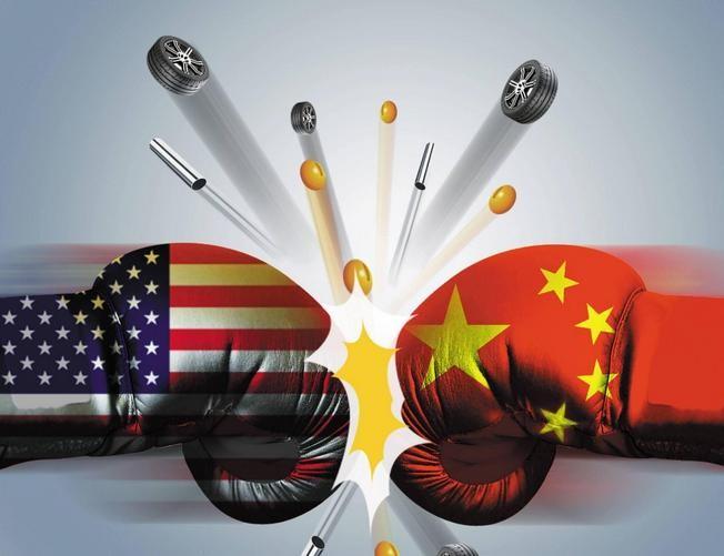 Chiến tranh thương mại Trung - Mỹ có xảy ra hay không đang gây chú ý cho cộng đồng quốc tế. Ảnh: Sohu.