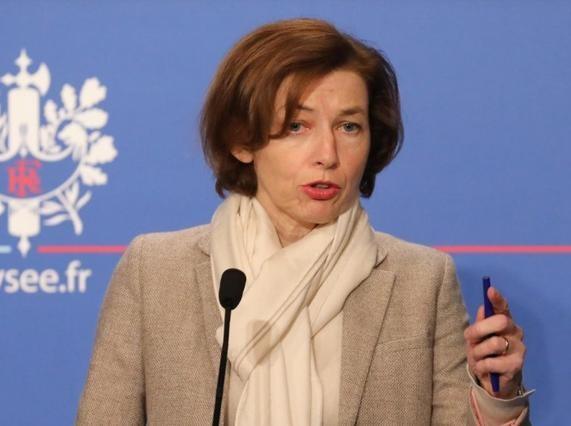 Bộ trưởng Quốc phòng Pháp Florene Parly. Ảnh: AFP.