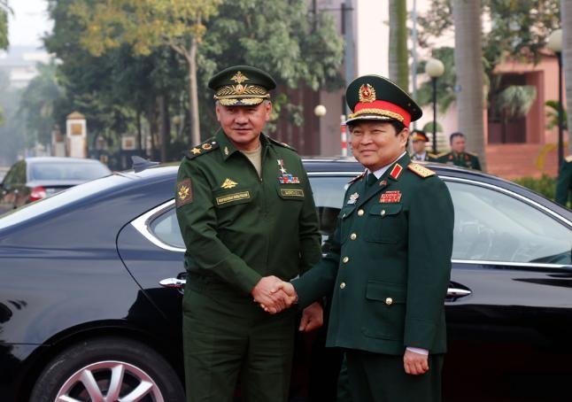 Tháng 1/2018, Bộ trưởng Quốc phòng Nga Sergey Shoigu thăm Việt Nam.