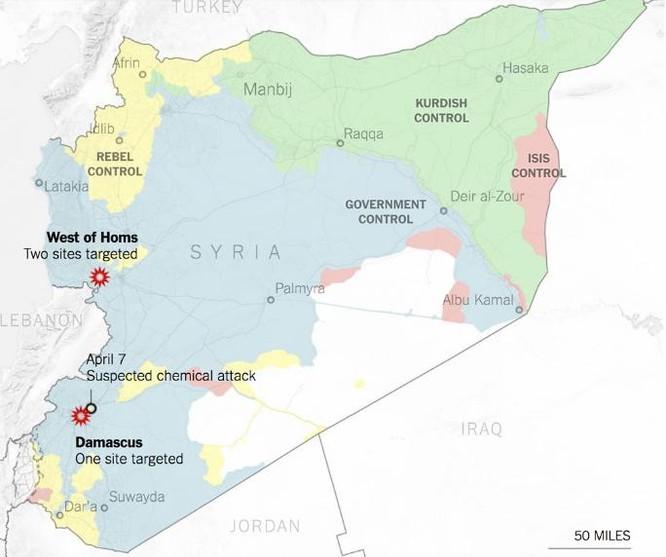Vì sao Mỹ vội vã quyết định tấn công Syria? ảnh 1
