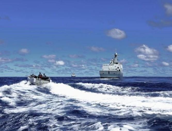 Hải quân Trung Quốc trỗi dậy thách thức Mỹ: Quá nhanh, quá nguy hiểm ảnh 4