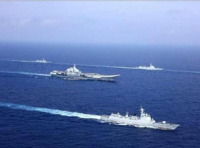 """Trung Quốc cấm biển: Tập trận tàu sân bay và cho """"hàng nhà trồng"""" chạy thử? ảnh 3"""
