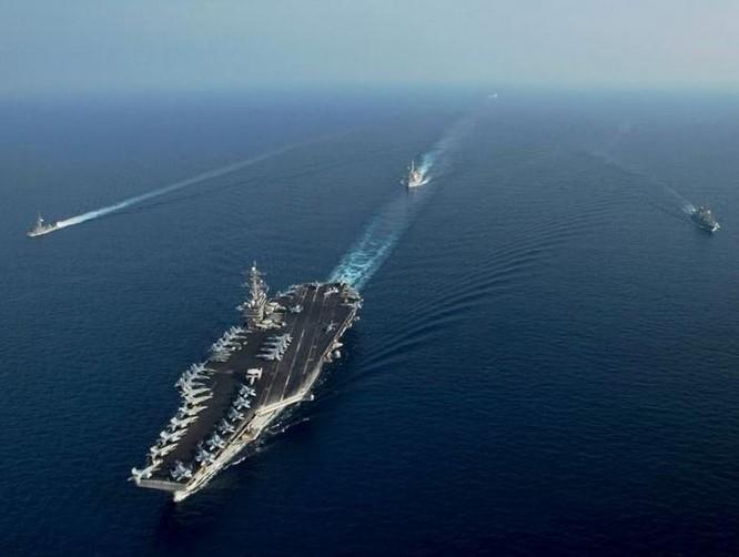 """Mỹ đảo chiến lược tàu sân bay """"làm loạn thế trận"""" Trung, Nga ảnh 1"""
