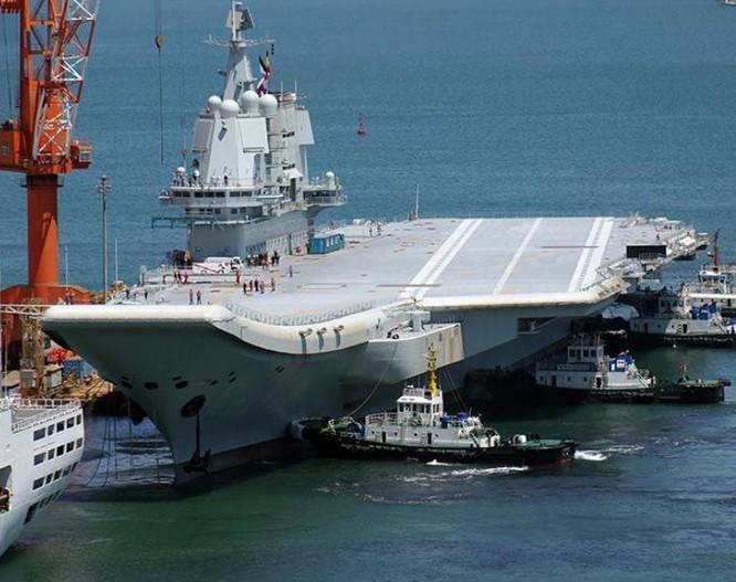 Đua với Mỹ, Trung Quốc ráo riết lập biên đội tàu sân bay thứ hai ảnh 2